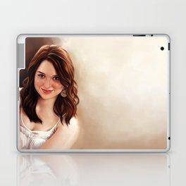 Emma Stone Laptop & iPad Skin