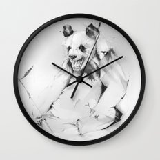 Bad Panda Wall Clock