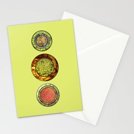 Food Mix Tris Stationery Cards