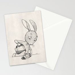 Crooked Coffee Stationery Cards
