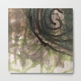 garden labyrinth Metal Print
