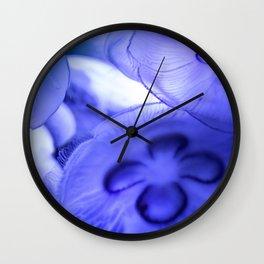 Moon Jellyfish Wall Clock