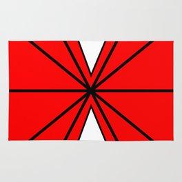 Red Mask Rug