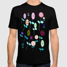 The garden MEDIUM Mens Fitted Tee Black