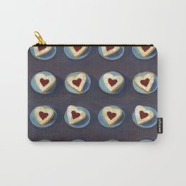 Linzer Cookies Carry-All Pouch