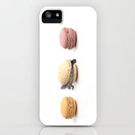 Cute Turtle Macaron iPhone Case