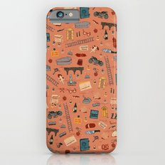 Budapest Hotel Plot Pattern iPhone 6s Slim Case
