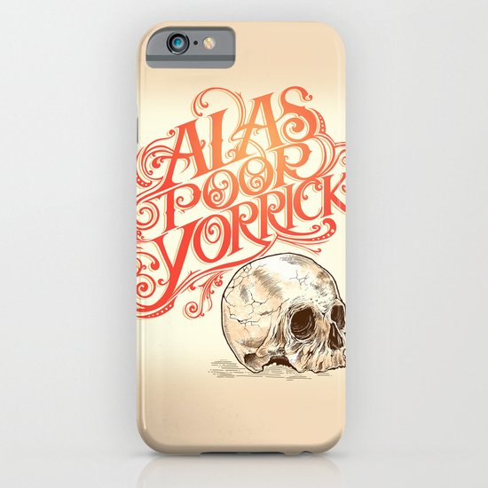 Hamlet Skull iPhone & iPod Case