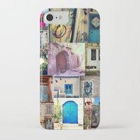 door iPhone & iPod Cases featuring door by gzm_guvenc