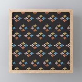Las Flores 02 (Patterns Please) Framed Mini Art Print