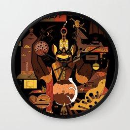 Bat Idol Wall Clock