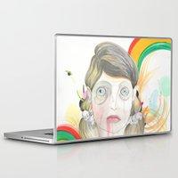 zombie Laptop & iPad Skins featuring Zombie by Raül Vázquez