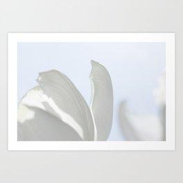 white dream 0.1 Art Print