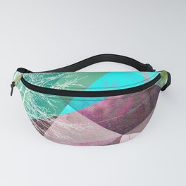 P16-B TREES AND TRIANGLES Fanny Pack