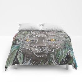Keliki Wolf Comforters