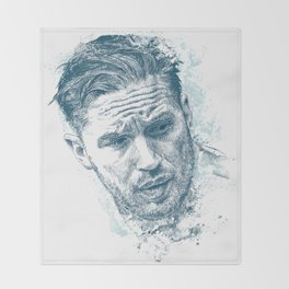Tom Hardy Throw Blanket