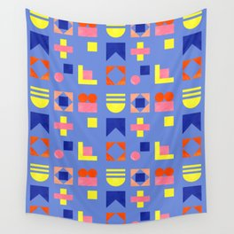 Geometry- pattern no1 Wall Tapestry