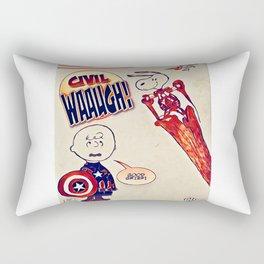 Civil Wauugh! Rectangular Pillow