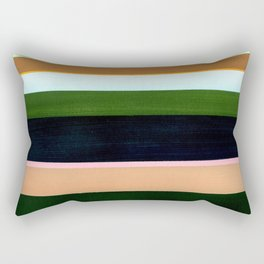 Stripes - Inspired by The Birth of Venus by Sandro Botticelli Rectangular Pillow