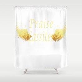 Praise Lassiter Shower Curtain