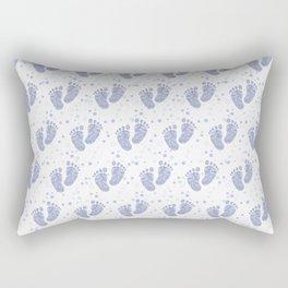 Baby feet background 7 Rectangular Pillow