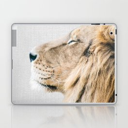 Lion Portrait - Colorful Laptop & iPad Skin