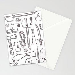 Pirate's Kit Stationery Cards