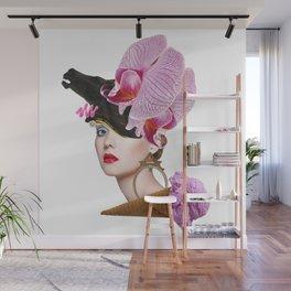 Flower Icecream by Lenka Laskoradova Wall Mural