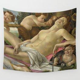 "Sandro Botticelli ""Venus and Mars"" Mars Wall Tapestry"