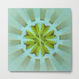 Tronk Peeled Flower  ID:16165-022118-01940 Metal Print