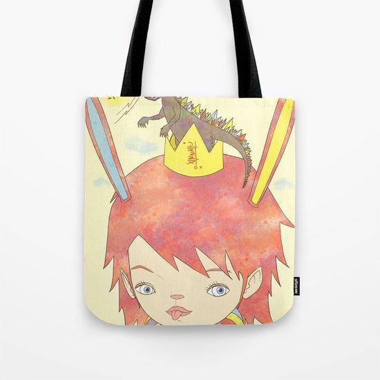 CROWN NEST - GOZILLA KING 고질라킹 Tote Bag