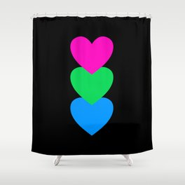 Polysexuality in Shapes Shower Curtain