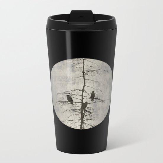 A Full Moon Night Metal Travel Mug