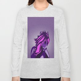 Pony in the Pink Long Sleeve T-shirt