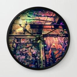 Ruin bar Wall Clock