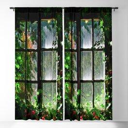 Secret garden window Blackout Curtain