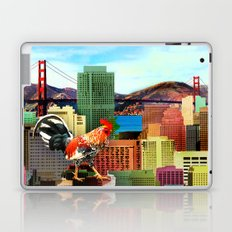 San Francisco City Chicken Laptop & iPad Skin