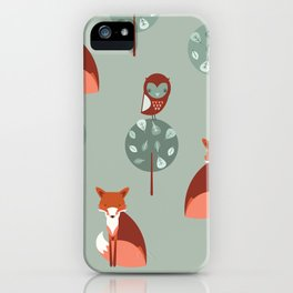 Fox Woods iPhone Case