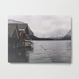 Lake and mountains Metal Print