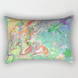 Lizards O' My Rectangular Pillow