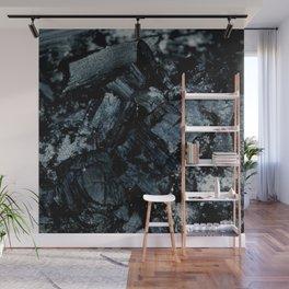 Black Coal Wall Mural