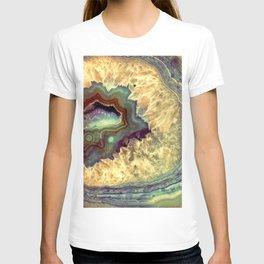 Colorful Earth Tones Quartz Crystal T-shirt