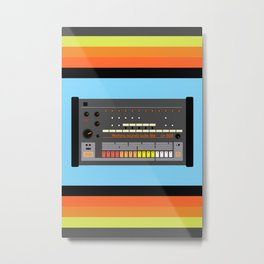 Nothing Sounds Quite Like An 808 Metal Print