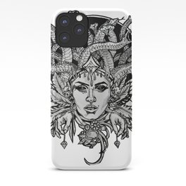 Medusa Mandala iPhone Case