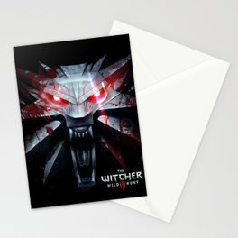 The Witcher 3 Logo Stationery Cards