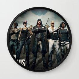 PUBG 6 Wall Clock