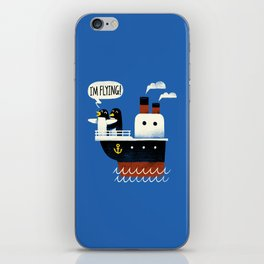 I'M FLYING! iPhone Skin