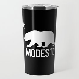 Modesto and California Bear Travel Mug