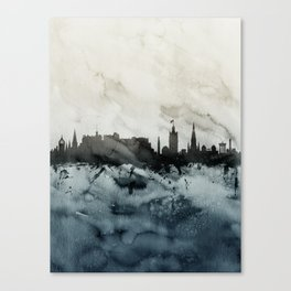 Edinburgh Scotland Skyline Canvas Print
