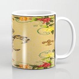 Fluer de lis (warm) Coffee Mug